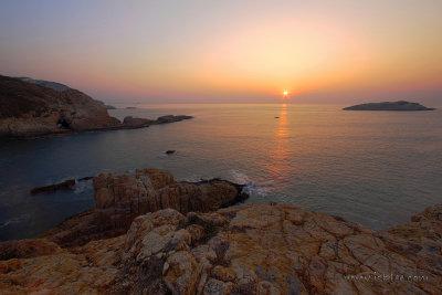 Year 2014 Sunrise at Mok Min Cave, Sai Kung