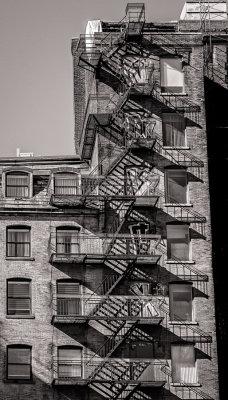 Lescalier de secours - Montréal