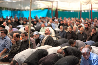 Friday Prayers, Tehran