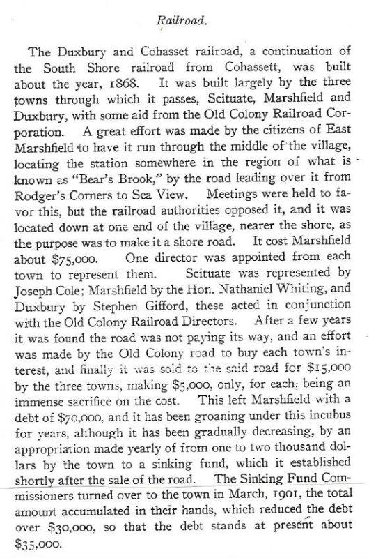 Railroad Text