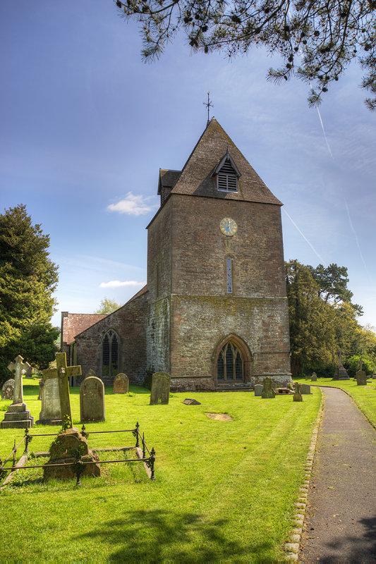 St. Davids Church, Much Dewchurch