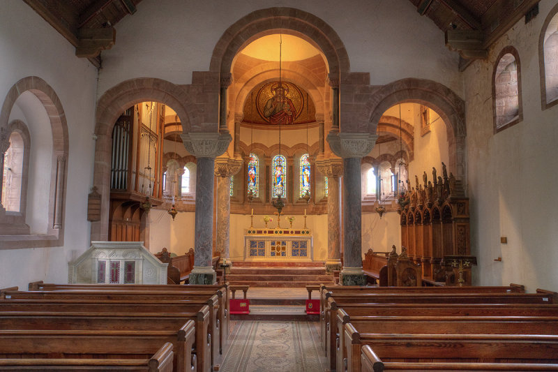 St. Catherines Interior view