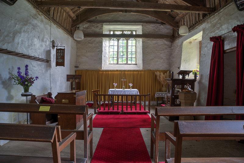 St. Marys Church, Craswell - interior