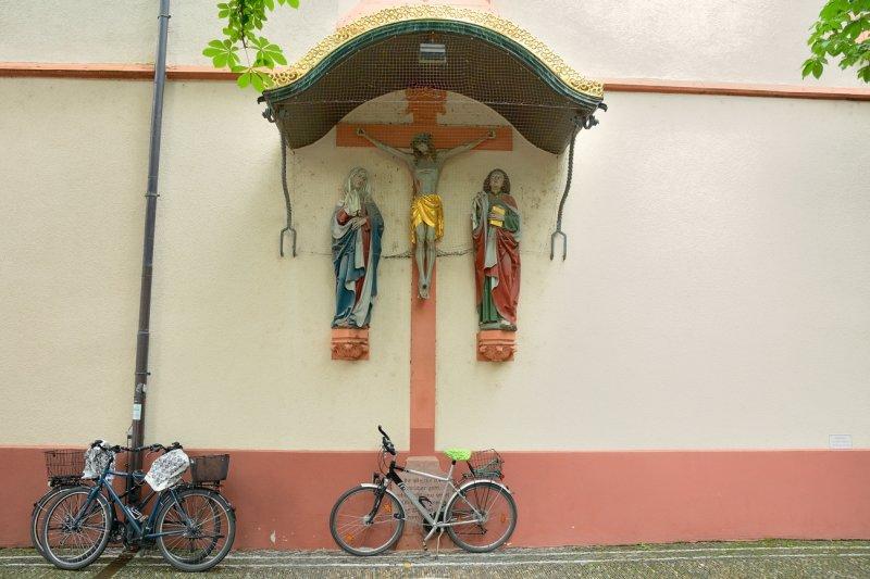 By bike?