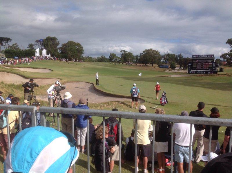 Victoria Golf Club 18th hole