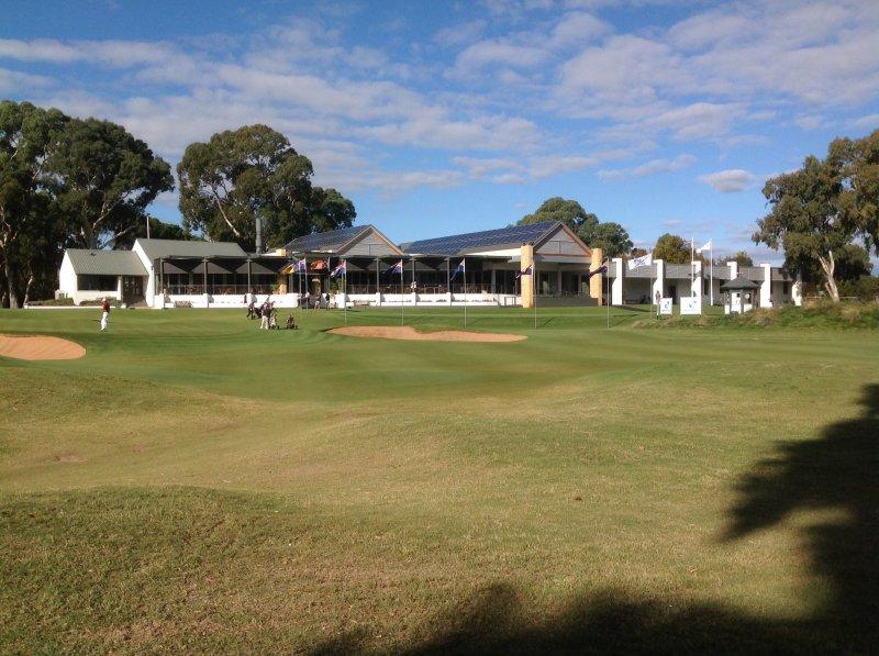 Kooyonga golf club house.