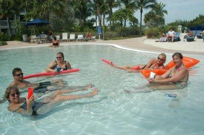 Zero Entry Pool, Hyatt Beach House Key West  3