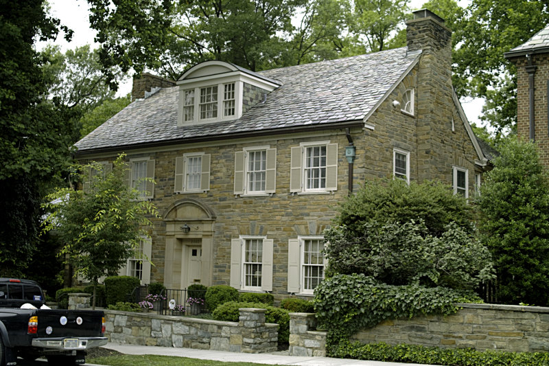 Former Craig Spence house in Kalorama, DC