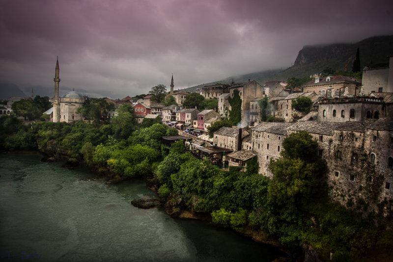 Neretva River, Mostar, Bosnia
