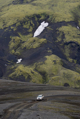 Road F208, from Eldgjá to Landmannalaugar