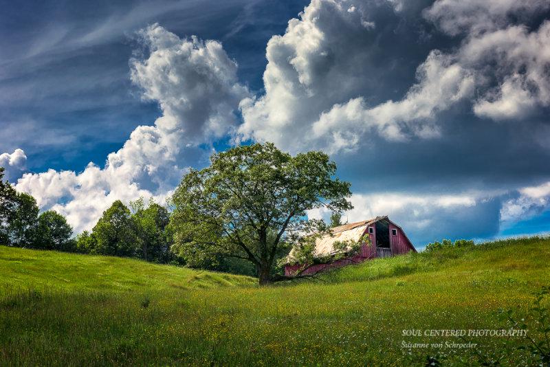 Northern Wisconsin barn