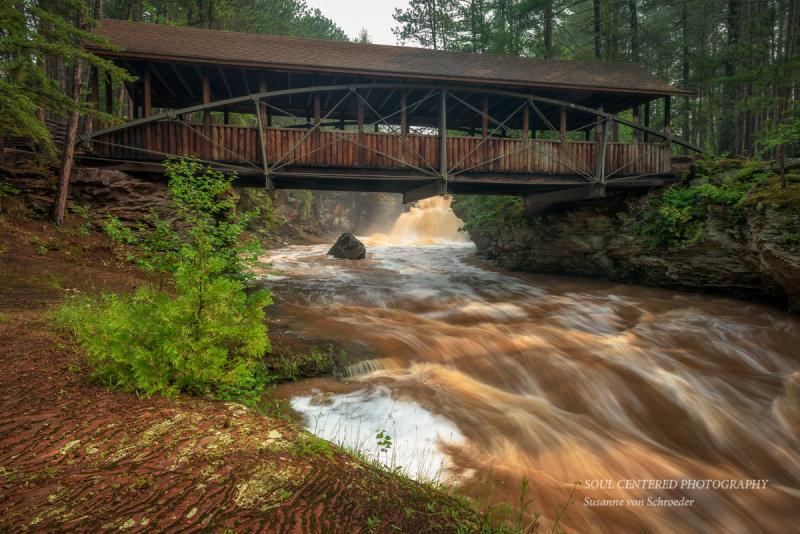 Covered Horton bridge
