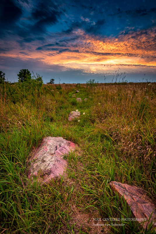 At Blue Mounds State Park