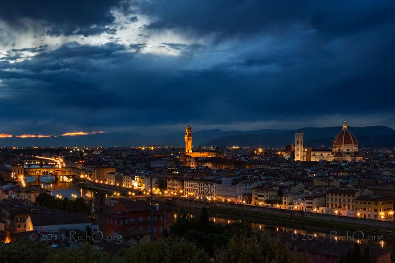 Florence Evening Twilight