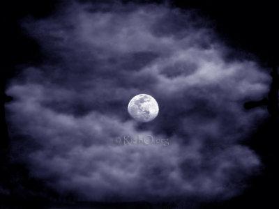 Moon Clouds Blue/Green