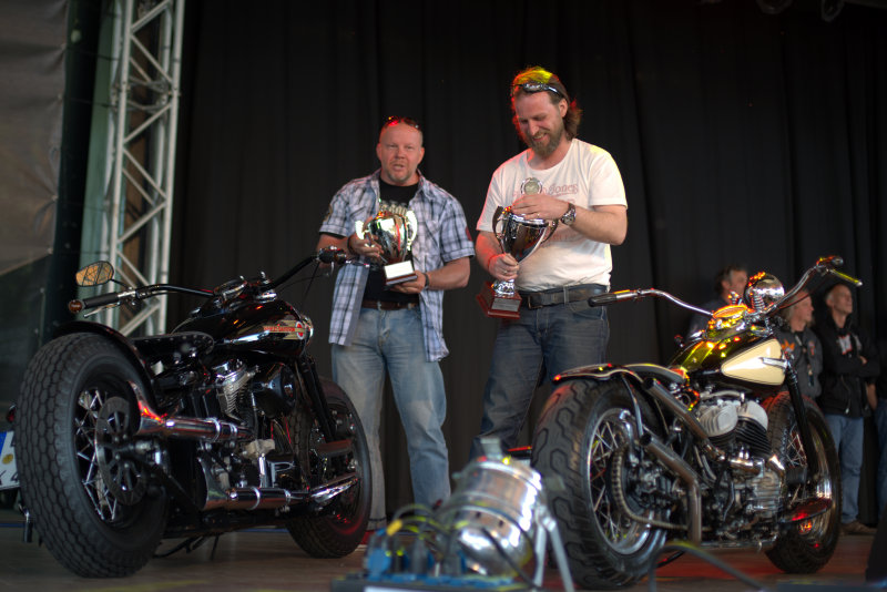 2 Winner on the Harley Dome Cologne 2014