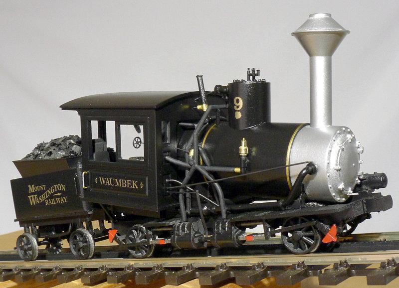 Mt Washington Cog Railway Model
