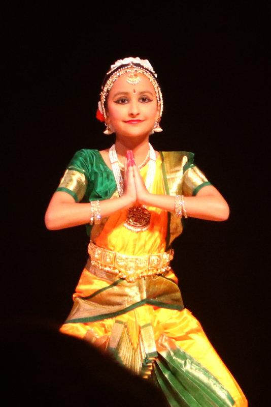 Bharatanatyam dance performance