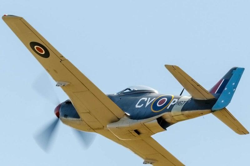 P51K or more correctly CAC CA-18 MK 21, Mustang