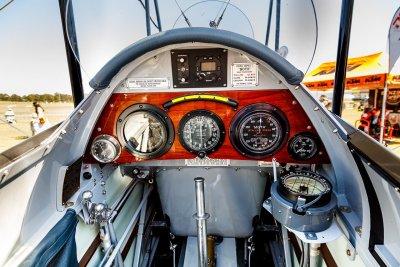 de Havilland Gipsy Moth Cockpit