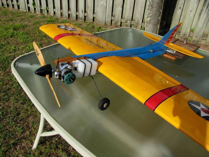 Video of my K&B torpedo .049 Large