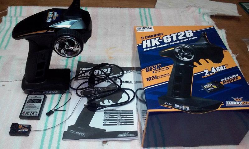 2.4Ghz 3-Channel Pistol Grip Radio - $15.00 Large