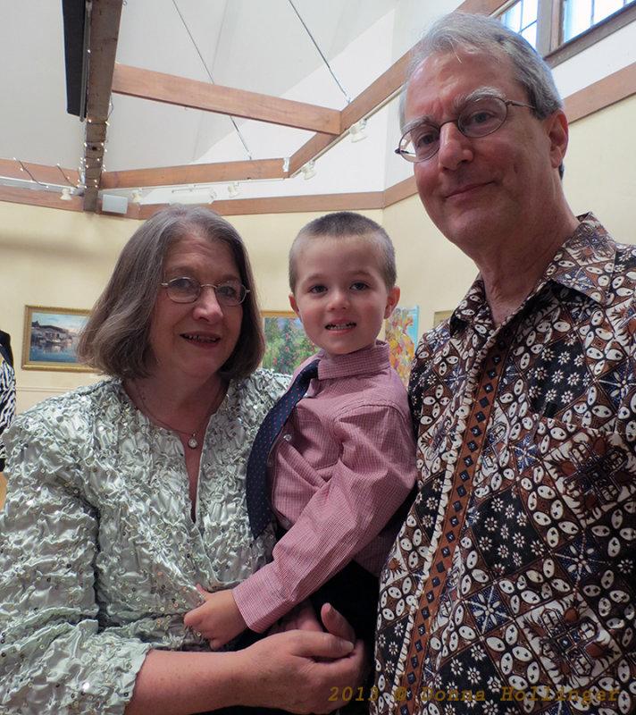 Paula, Finn and Peter