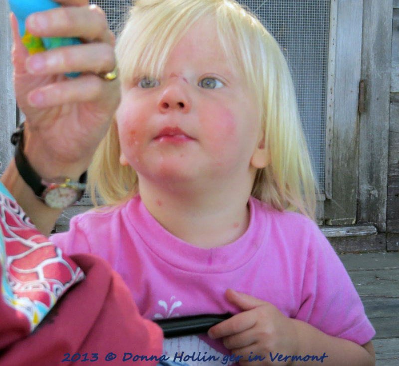 Childhood intensity:  Lilly