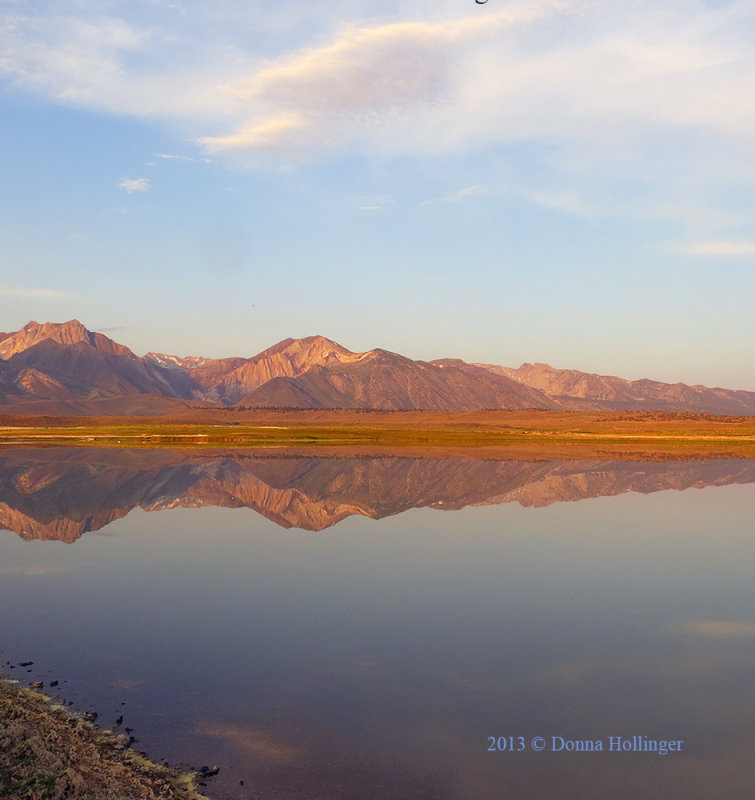 Mountain Reflections  at Dawn