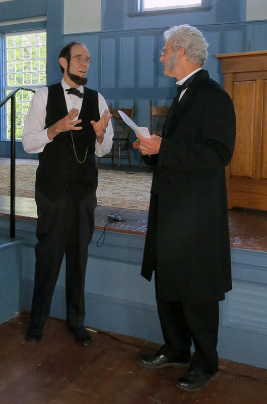 Honest Abe, and Justin Smith Morrill