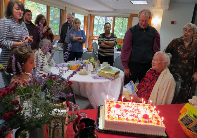 Floras Birthday Party at 90!