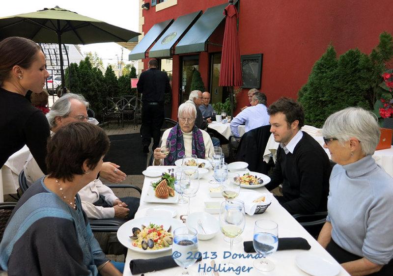 Floras 90th Birthday Lunch