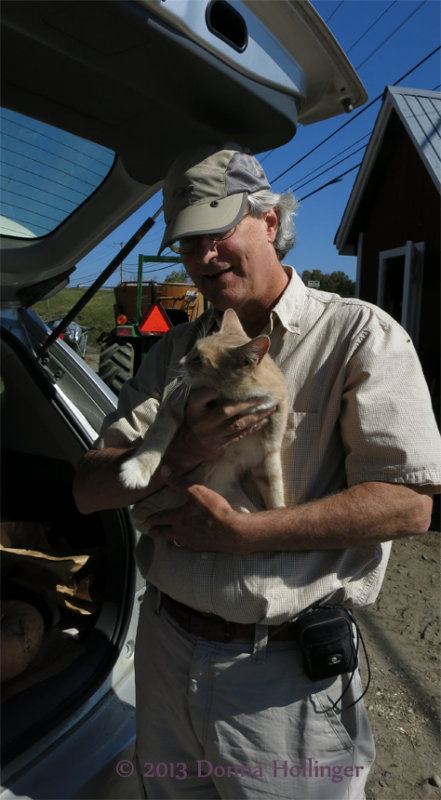 Peter and Farm Kitty