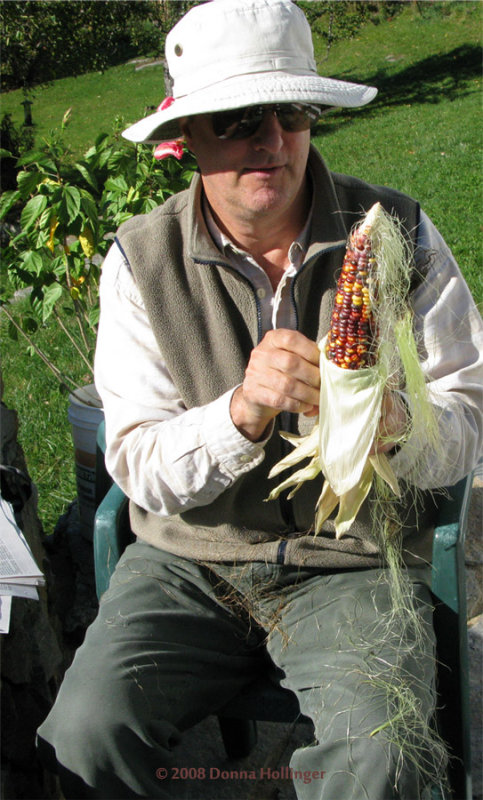 Peter Stripping The Indian Corn
