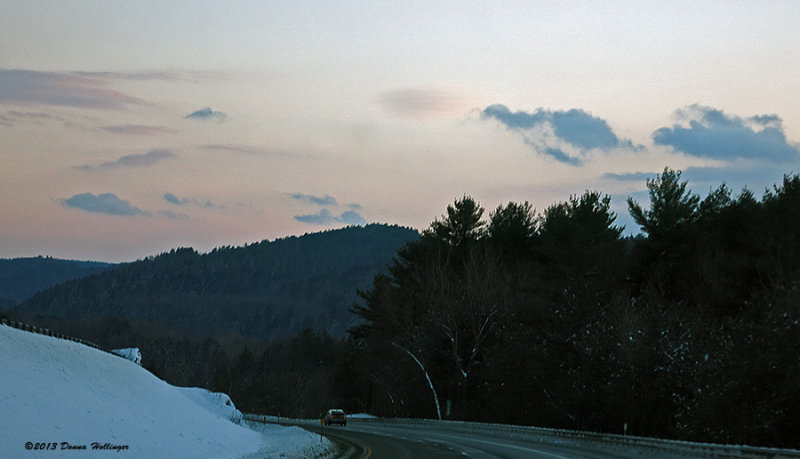 Driving Up Through New Hampshire