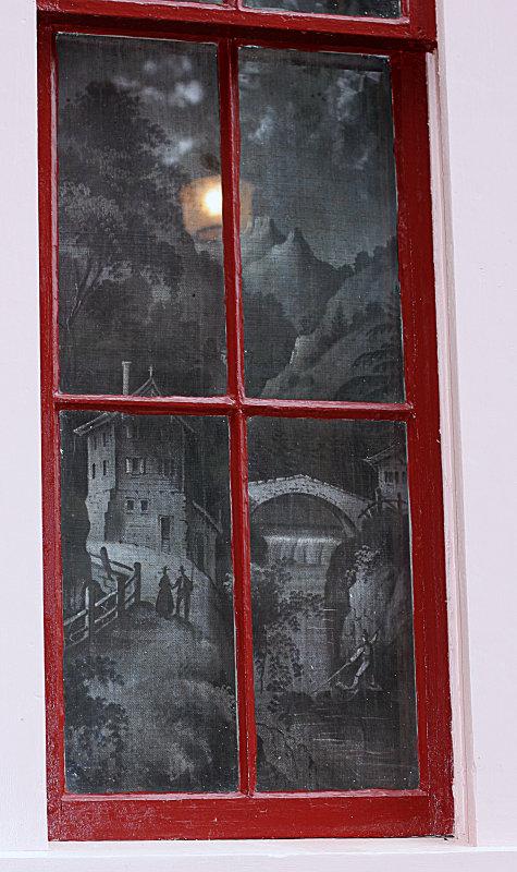 PaintedMorrill Homestead Dining Room Window
