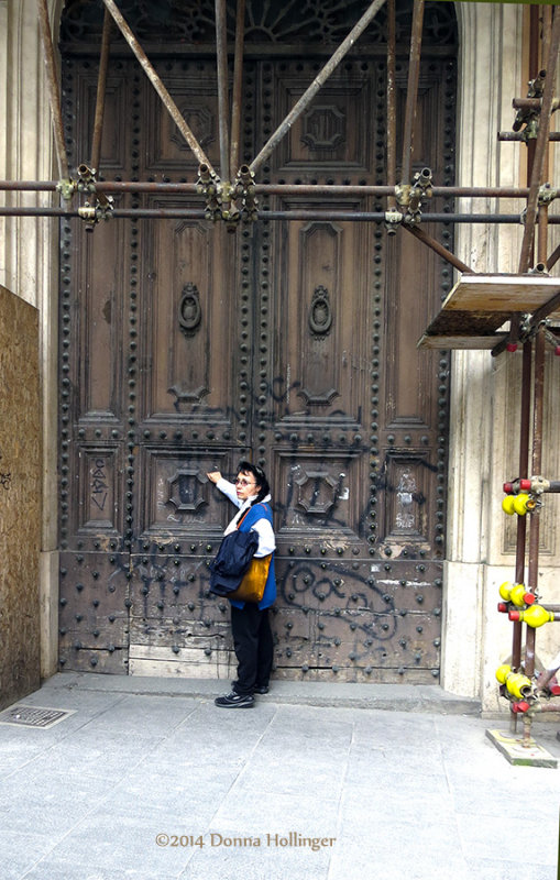 Knocking on a Big Door