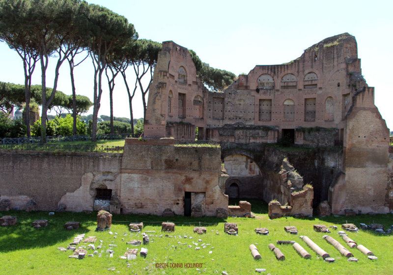 Augustian Palazzo on the Palatine