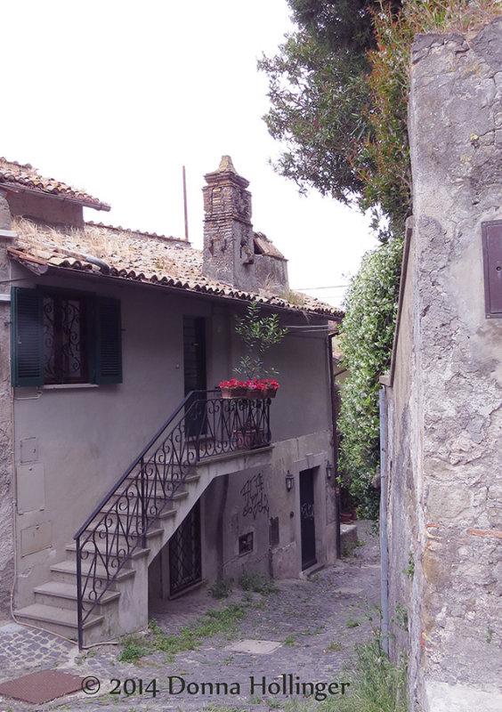 A Cottage on Lake Bracciano