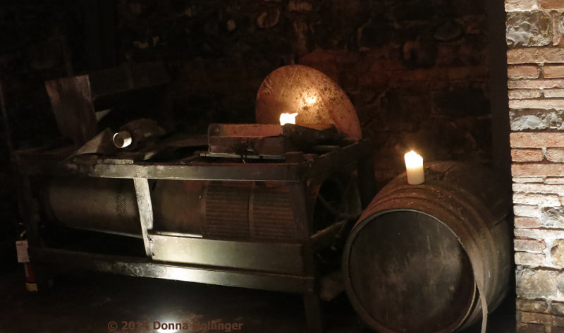The Old Winepress and Barrel