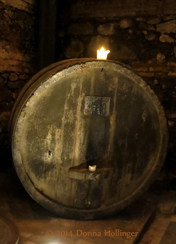 Vintage Barrel In Dievole Wine Cellar, II