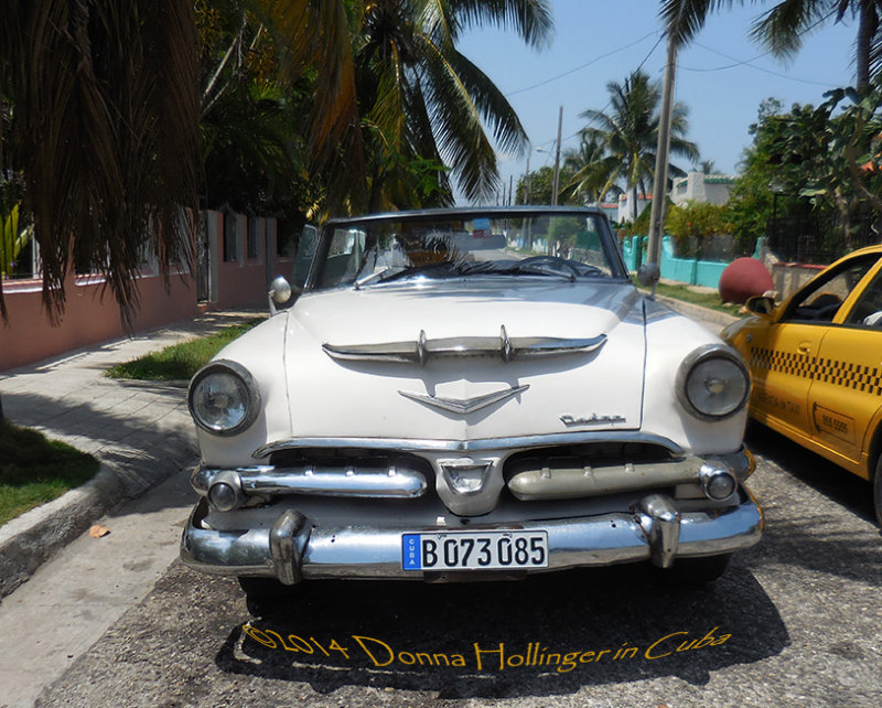 This Dodge!  Outside Donna Carmelas Place