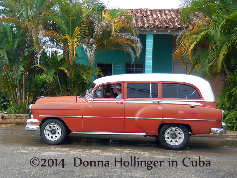Station Wagon in Vinales