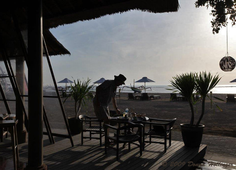 Sunrise Breakfast with Peter in Bali