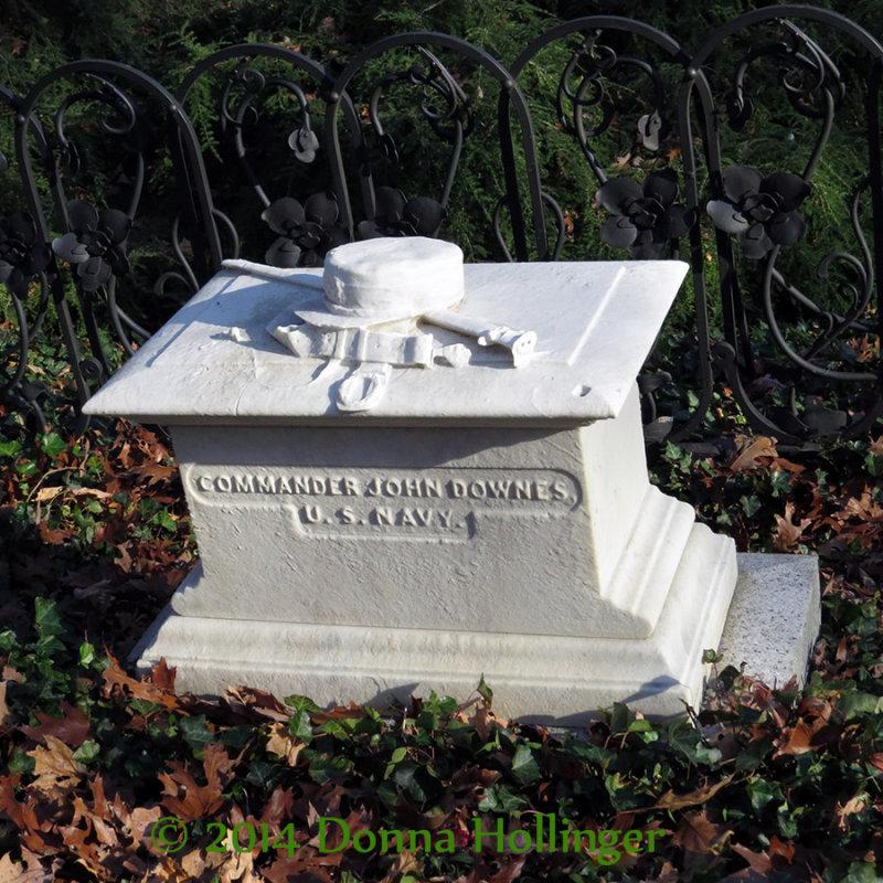 Navy Veteran in Civil War,  Died 1865