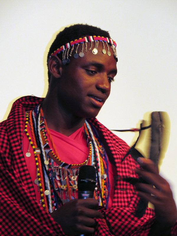 Masai Comedian?  Fred