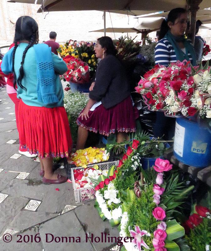 Cuenca, Old City Flower Market