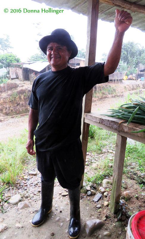 A Handsome Ecuadorian at the Market