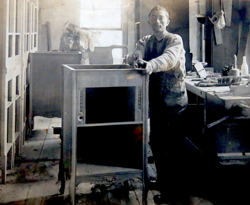 At the Piano Factory around 1910