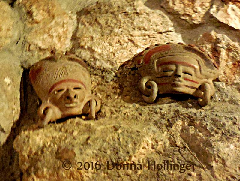 Hotel Duran Ceramic Masks